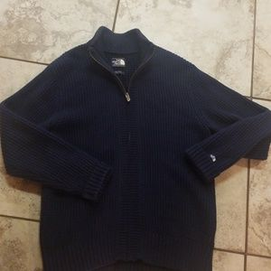 The North Face sweater jacket men's size L